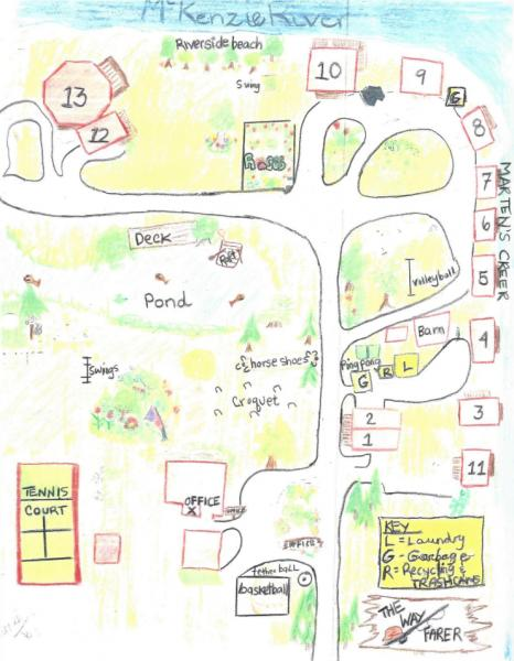 WAFARER RESORT MAP